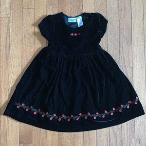 Toddler Velvet Dress